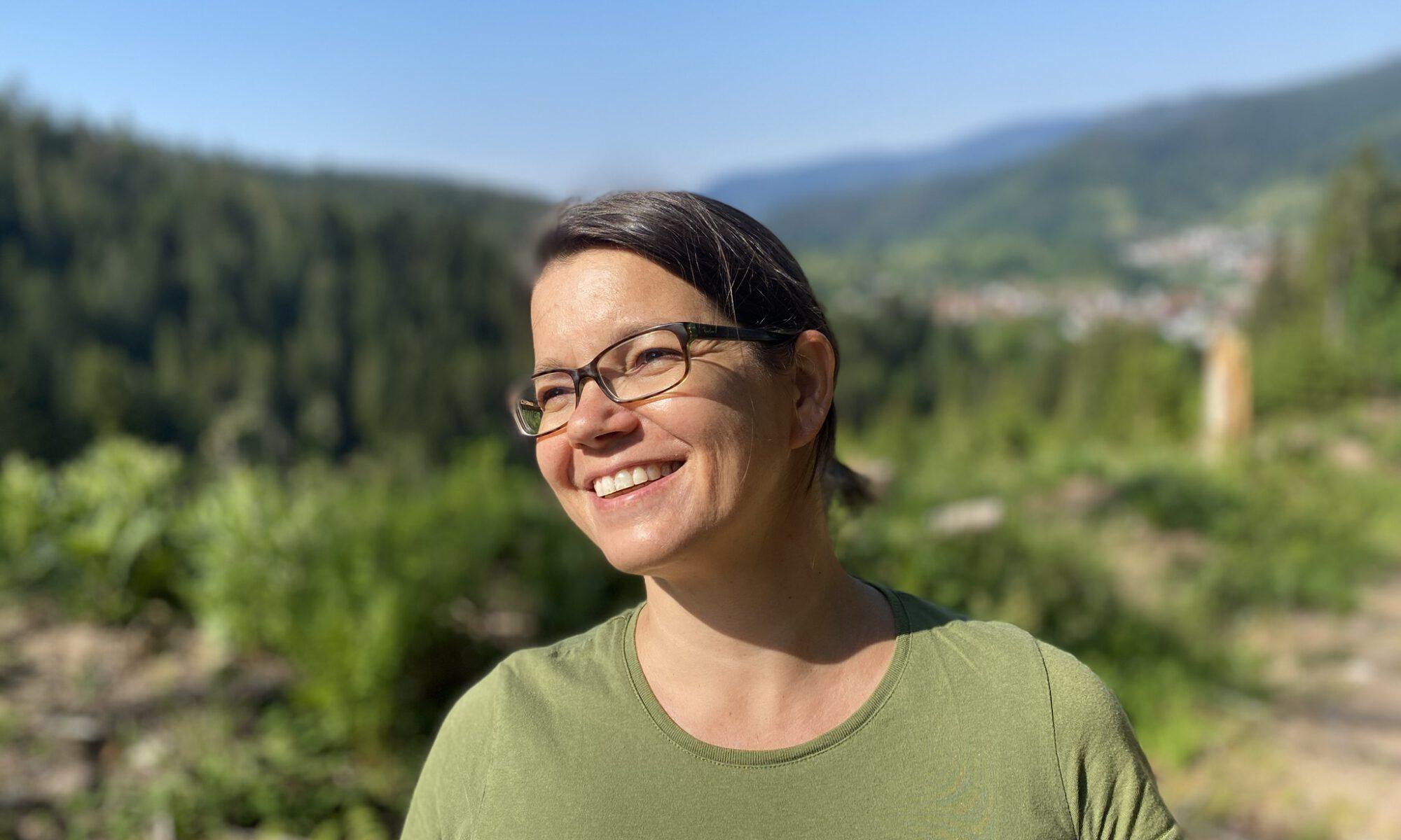 Kräuterpädagogin Corinna Plege